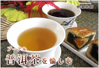 プーアル茶を愉しむ