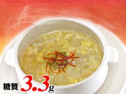 ホコホコあったか生姜と長芋のすりながし中華スープ